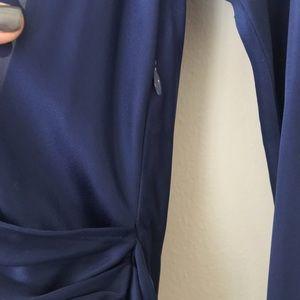 Halston Heritage Dresses - NWT - Halston Heritage Marine Wrap Dress